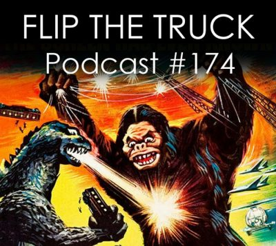 Podcast 174 - King Kong vs Godzilla