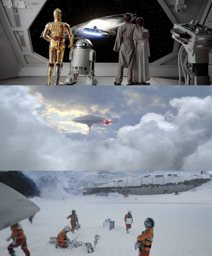 Half Inch Trailer Revisited: Extended Trailer For Star Wars V: Revisited