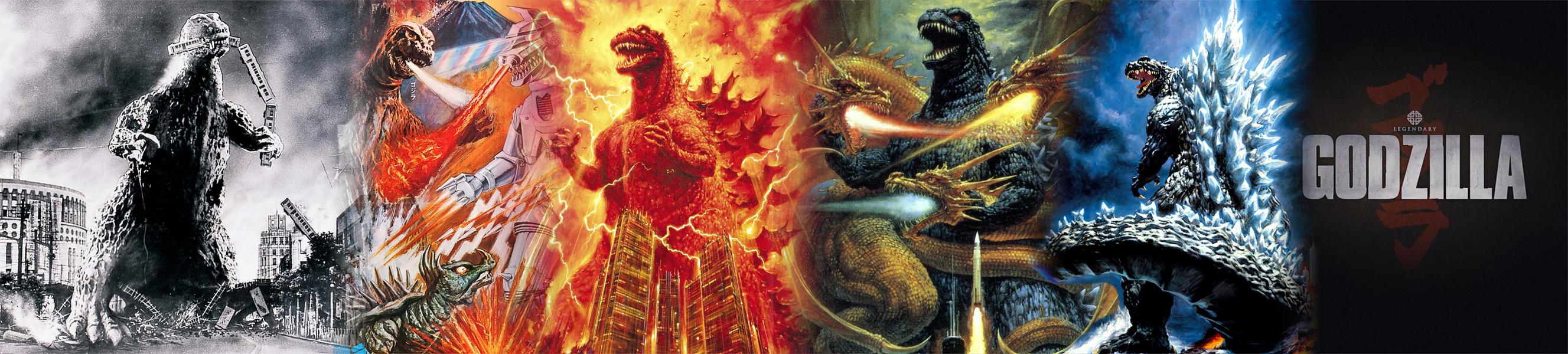 Banner Godzilla