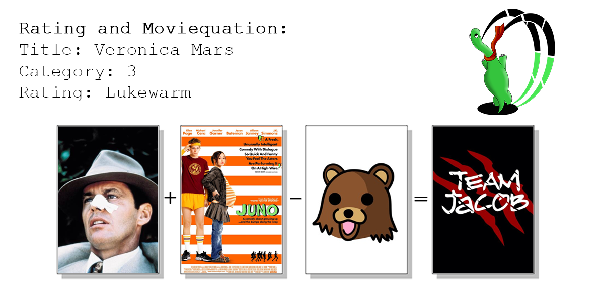 moviequation veronica mars