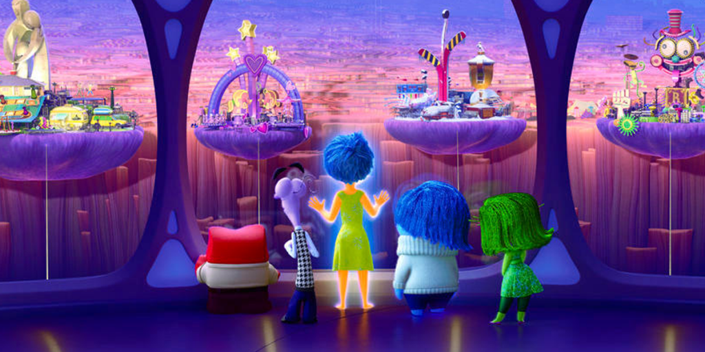 Inside Out Islands of Personality
