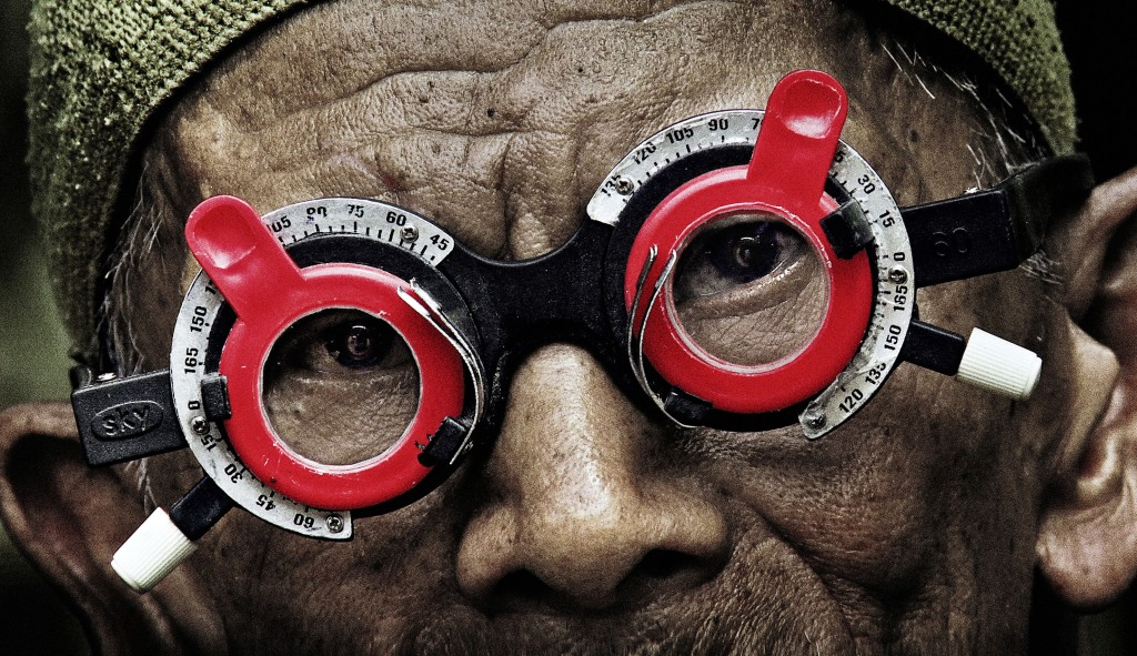 A scene from Joshua Oppenheimer's documentary The Look of Silence. Courtesy of Drafthouse Films and Participant Media. *** Local Caption *** The Look of Silence, , Joshua Oppenheimer, DK/NO/FIN/Indonesien/GB, 2014, V'15, Dokumentarfilme