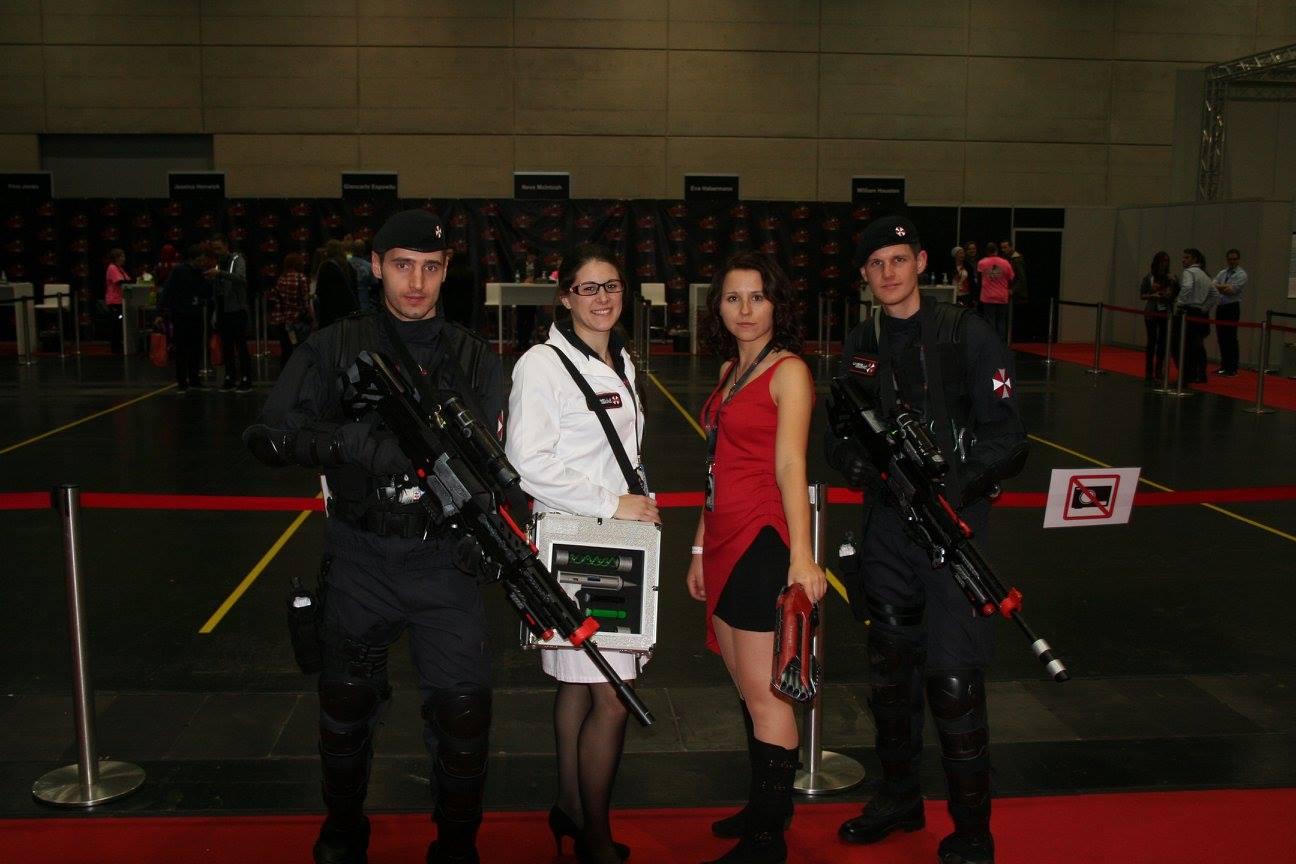 Sie fühlen sich sicher... diese Resident Evil Gang beschützt/bedroht alles