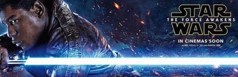 The Force Awakens Finn Banner