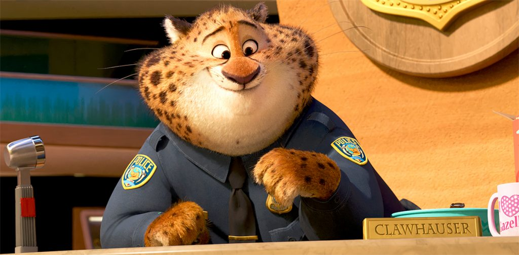 Clawhauser Zootopia
