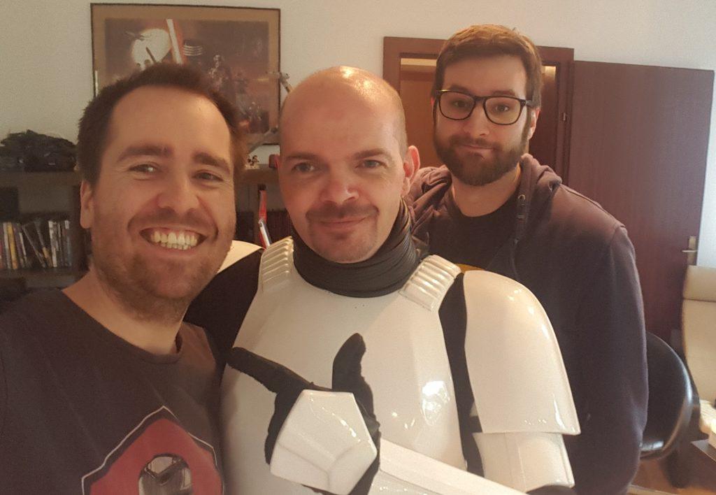 Zwei Generationen Star Wars Fans!