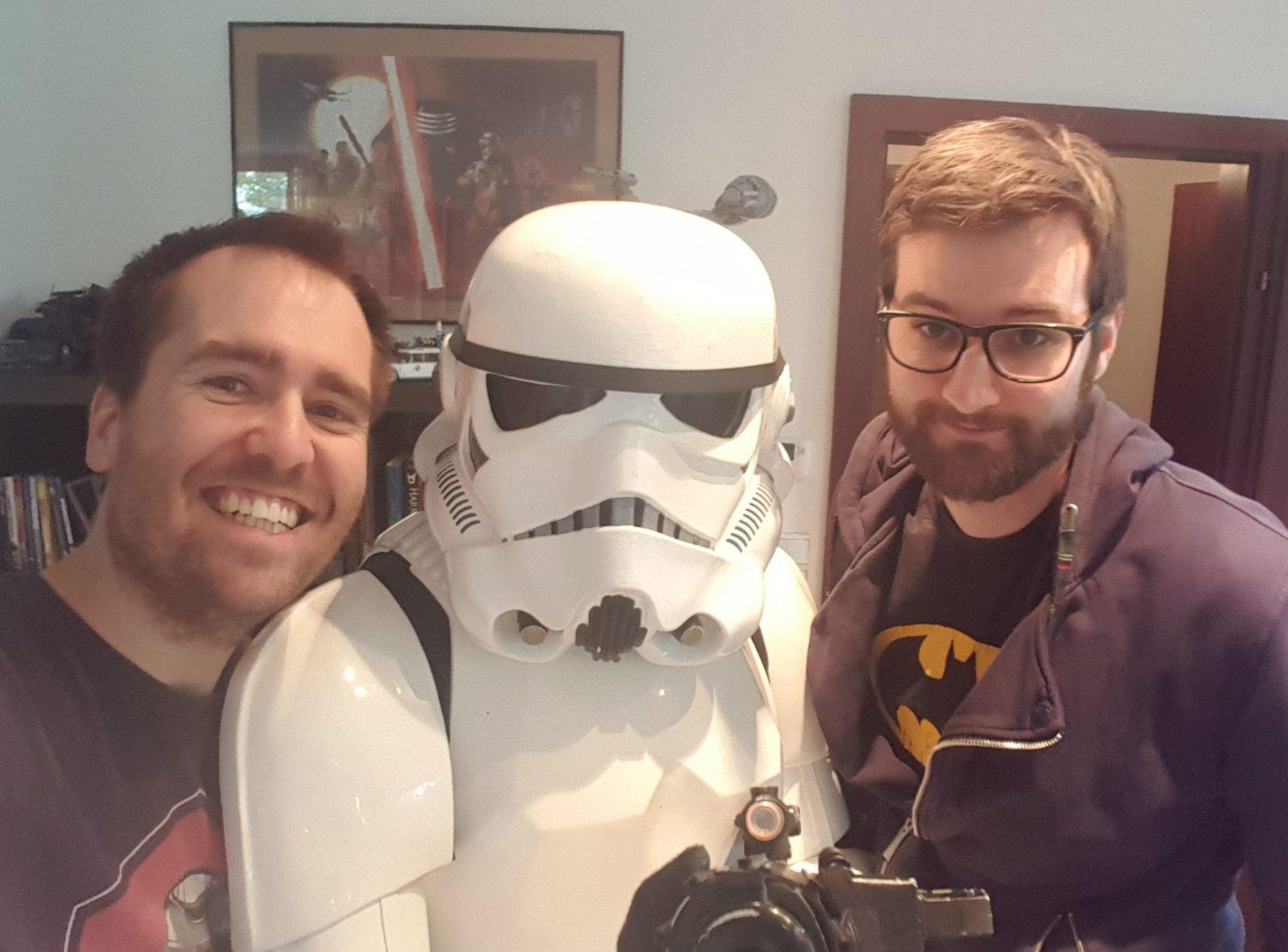 Markus von der 510st Austrian Garrison war zu Gast, um die Star Wars News zu diskutieren