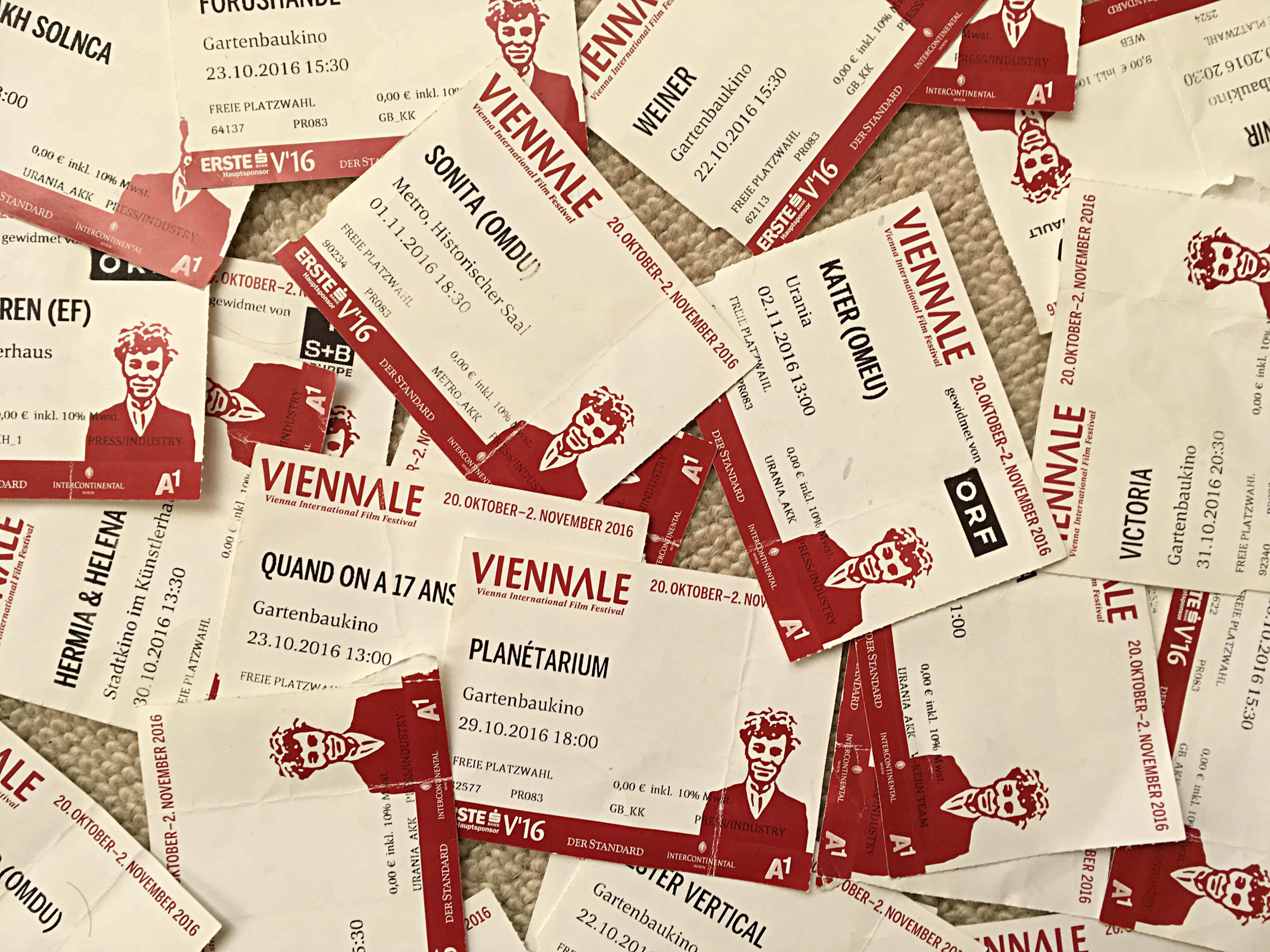 Viennale 2017 tickets wien filme podcast