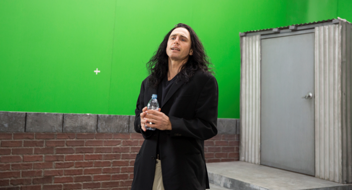 Oh, hi Mark. - James Franco in The Disaster Artist / (c) Warner Bros