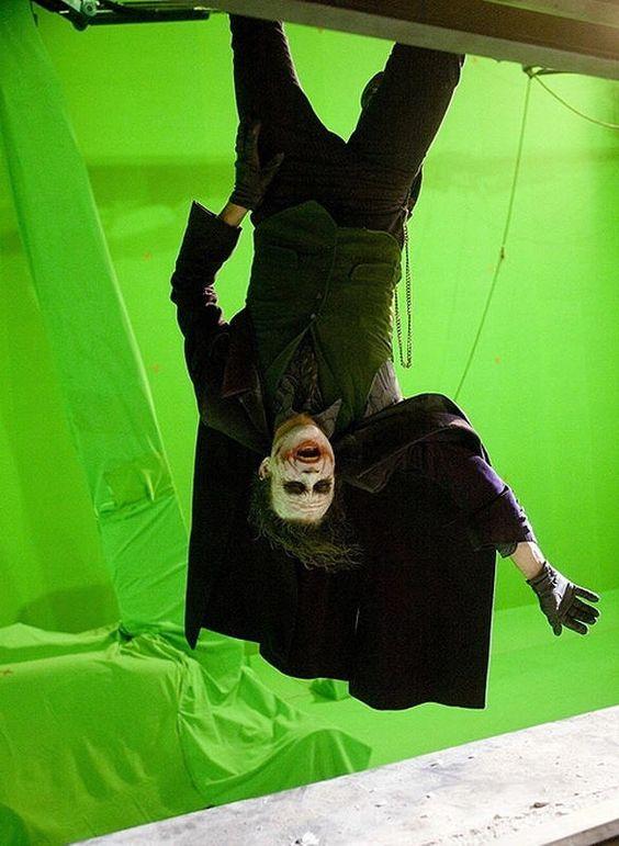 Heath Ledger Joker Upside Down   The Dark Knight   Flip the Truck