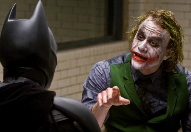 Joker Batman Interrogation   Flip the Truck
