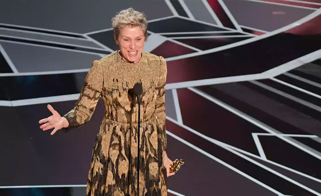 Frances McDormand | Oscars 2018 | Flip the Truck