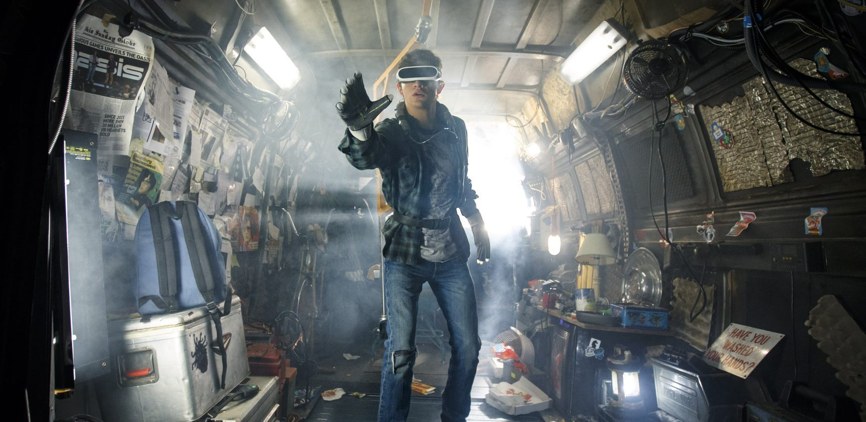 Flip the Truck   Ready Player One   Virtual Reality