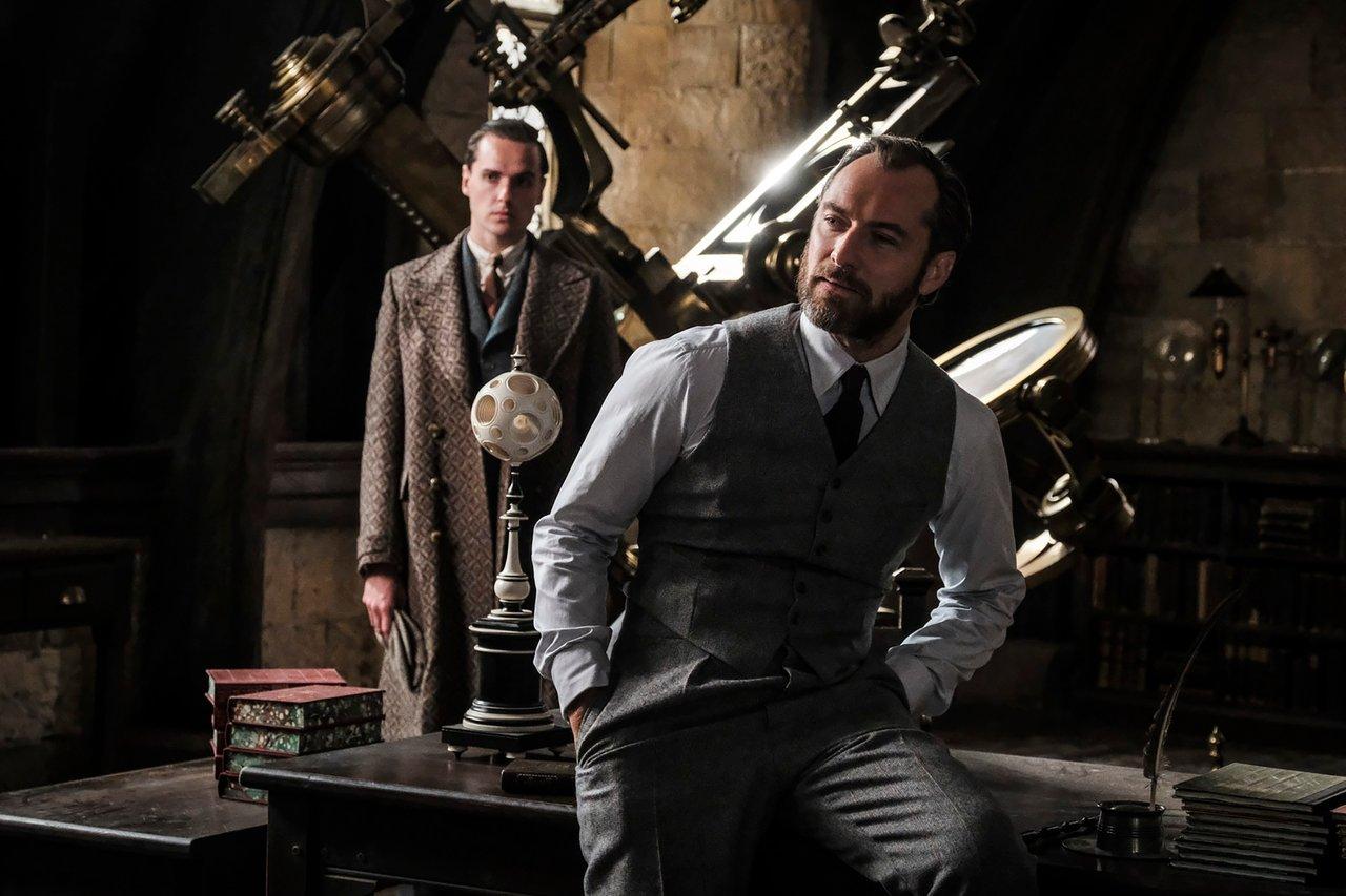 Jude Law als Albus Dumbledore